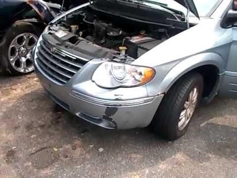 Где у Chrysler Праулер находится подушки двигателя