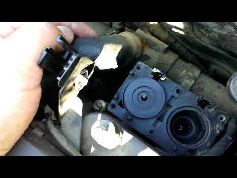 БМВ Е34 Ремонт клапанов печки BMW E34