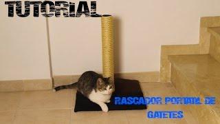 Tutorial Rascador Basico Para Gatos
