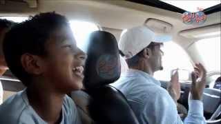 """getlinkyoutube.com-مفاجأة مدوية داخل سيارة """" محمد رمضان """" فى عز الظهر بطريق الواحات"""