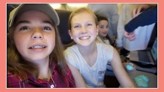 FLYING WITH FRIENDS | PLANE PARTY | Flippin' Katie