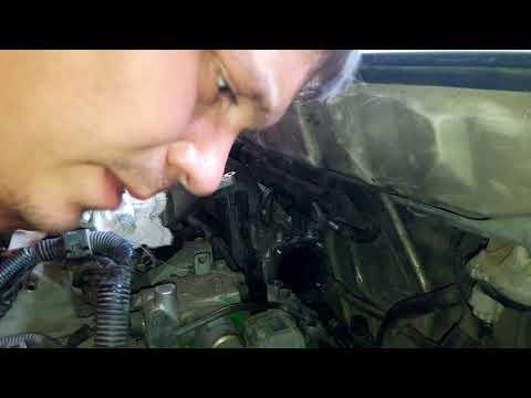 Установка дроссельной Заслонки на Митсубиси Шариот Грандис.Mitsubishi chariot grandis