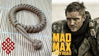 getlinkyoutube.com-How to Make a Mad Max Snake Knot Paracord Bracelet Tutorial