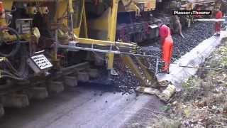 getlinkyoutube.com-Plasser & Theurer track rehabilitation