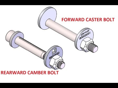 66038-Caster Camber Bolt Kit-SPC Alignment