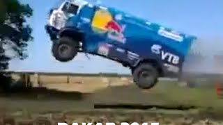 getlinkyoutube.com-Rally Dakar 2015 - Kamaz Jump (Salto Espectacular)