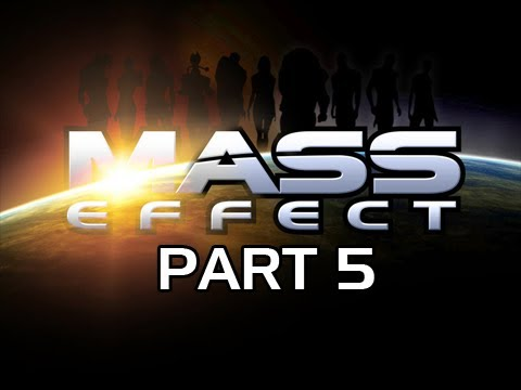 Mass Effect Gameplay Walkthrough - Part 5 FIST-ful of Wrex and Save Tali Let's Play
