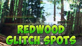 COD BO3 REDWOOD GLITCH SPOTS/JUMPS