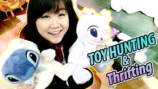 TOY HUNTING & THRIFTING - Easter Exclusives, Beauty and the Beast, Moana, Disney & Pixar Toys Haul