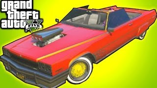 getlinkyoutube.com-GTA 5 Online - Rare Car Albany Manana Location (GTA V Tips & Tricks)