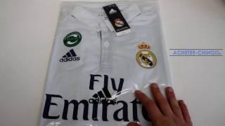 getlinkyoutube.com-[CONCOURS] Maillot du Real Madrid sur Aliexpress - SOCCER FANS