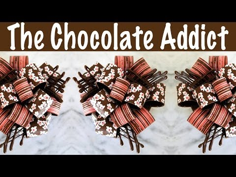 How to make a Delicious Chocolate Bow