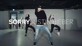getlinkyoutube.com-Sorry - Justin Bieber / Bongyoung Park Choreography