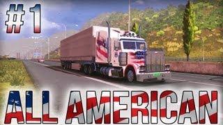 getlinkyoutube.com-All American - Part #1 - Euro Truck Simulator 2 (Research Profile)