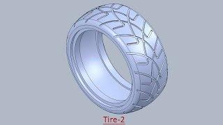 getlinkyoutube.com-Tire-2 (Video Tutorial) SolidWorks