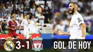 Real Madrid 3 Liverpool 1 I Real Madrid vs Liverpool I Final Champions League