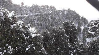 getlinkyoutube.com-Snowfall in Vaishno Devi 2017