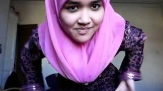 "getlinkyoutube.com-Dress of the day/malay ""baju kurung"""