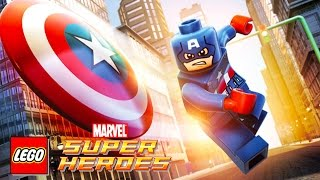 getlinkyoutube.com-CAPTAIN AMERICA LEGO Marvel Super Heroes | Game Lego Videos for Children