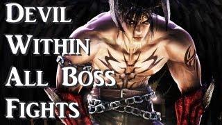 getlinkyoutube.com-Tekken 5 : Devil Within - All Boss Fights