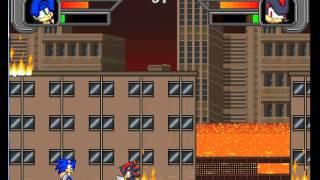 getlinkyoutube.com-Mugen - Sonic Speed Fighters 2 Revealed