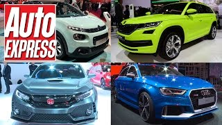 getlinkyoutube.com-Best cars at the 2016 Paris Motor Show