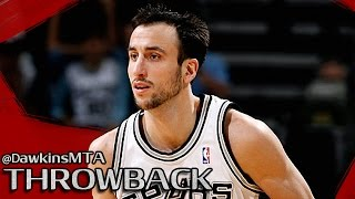getlinkyoutube.com-Manu Ginobili Full Highlights 2007.02.21 at Hawks - 40 Pts, SiCK!