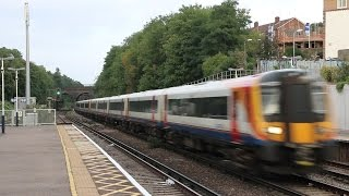 getlinkyoutube.com-South West Trains at Surbiton with Lots of Platform Announcements