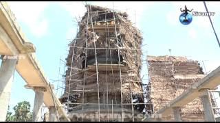 இணுவில் ஞானலிங்கேச்சுரர் கோவில் கட்டுமாண வேலைகள்