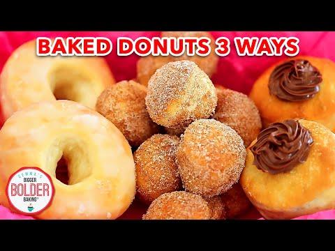 Homemade Donuts: Baked Better than Fried? - Gemma's Bigger Bolder Baking Ep 32