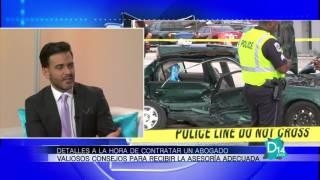 El abogado Victor Arias explica los detalles a la hora de contratar un abogado