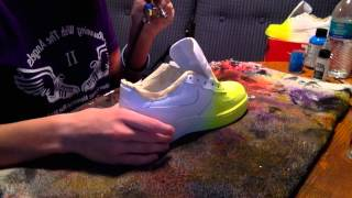 getlinkyoutube.com-Custom Faded Shoes