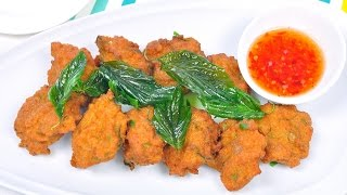 getlinkyoutube.com-ทอดมันไก่ Thai Chicken Cakes