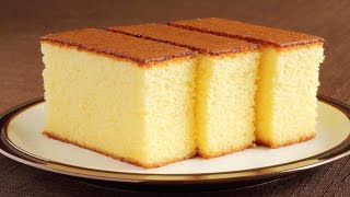 getlinkyoutube.com-Sponge Cake without Oven || Basic Plain & Soft Sponge cake || w/ Eng. Subtitles