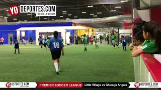 Little Village vs Chicago Angels Premier Soccer League