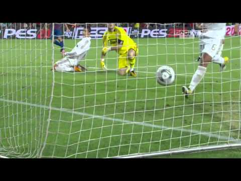 Barcelona vs Real Madrid 3-2 All Goals & Match Highlights (HD 720p) Spanish Super Cup 17/08/2011