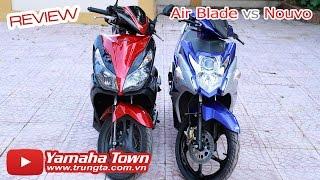 getlinkyoutube.com-Yamaha Nouvo Fi 2015 đọ dáng Honda Air Blade 2014 - So sánh chi tiết ✔