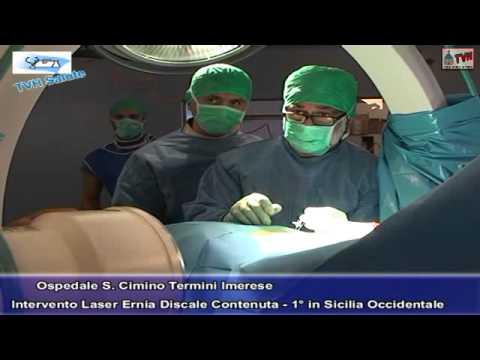 TVH Salute: Intervento Laser per il trattamento dell'ernia discale contenuta all'Ospedale S. Cimino