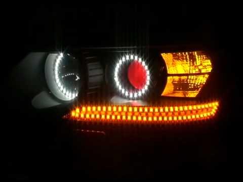 Стильная светодиодная подсветка фар
