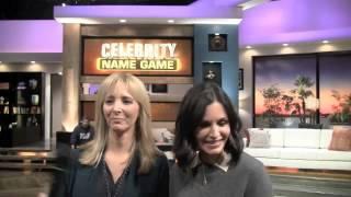 getlinkyoutube.com-Courteney Cox, Lisa Kudrow Interview - Celebrity Name Game