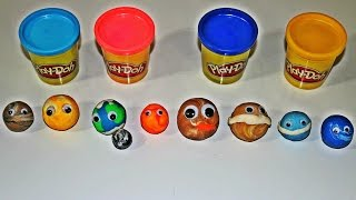 Play doh Planets for kids - Pre schoolers - Kindergarten - Toddlers - Solar System Learning
