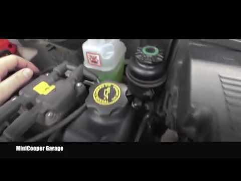 Mini Cooper Engine Coolant Level Inspection