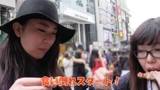 getlinkyoutube.com-日本大学 まなみ「女2人の大阪食い倒れ旅行!!」