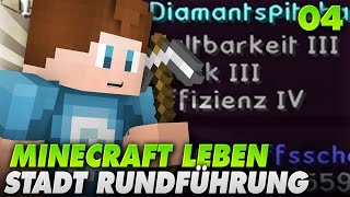 getlinkyoutube.com-MAGISCHE SPITZHACKE + STADT TOUR - LEBEN #04 | Minecraft