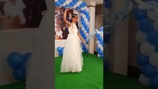 "Sapna Chowdhary New Dance by 10 Year ""Palak Kumari ""RANCHI"