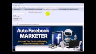 Auto Facebook Marketer - Automate Your Facebook Marketing With This new software