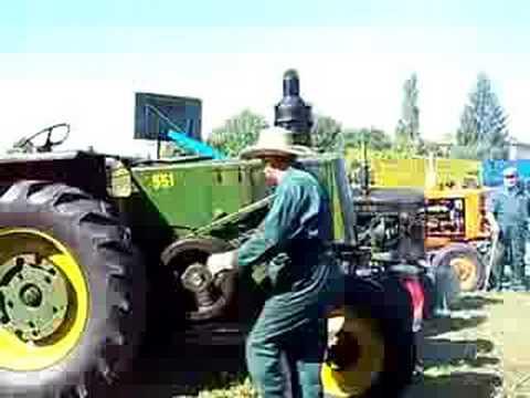 démarrage tracteur ancien