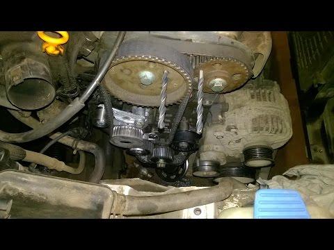 Ремонт Seat Leon. Замена ремня ГРМ на двигателе 1,4 AHW