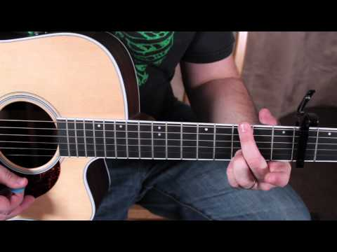 Taylor Swift - Mean - Super Easy Beginner Acoustic Guitar Songs Lesson - Easy songs