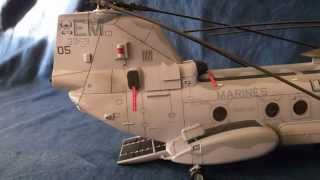 "getlinkyoutube.com-Academy CH-46E Sea Knight ""Bull Frog"" 1/48"